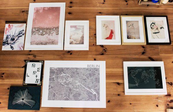 Gallery Wall | Bilderwand | Gruppierung