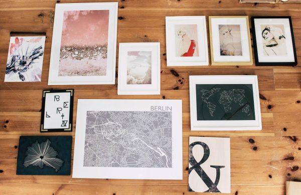 Gallery Wall | Bilderwand | Geordnetes Chaos